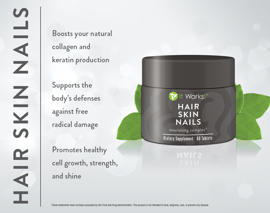Product Review-It Works Hair Skin and Nails | Magnetic Business Woman!