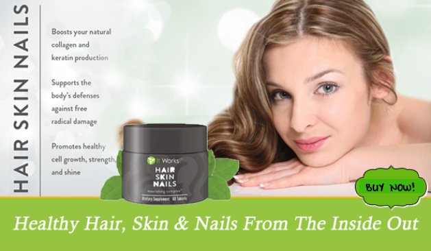 It Works Hair Skin and Nails | Magnetic Business Woman!